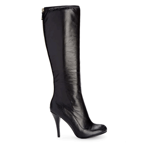 Presia Tall Boot Women's Boots in Black